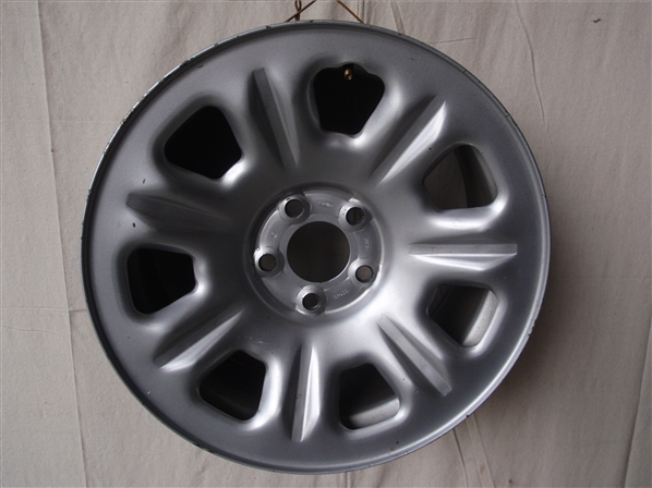 Unpainted car wheel