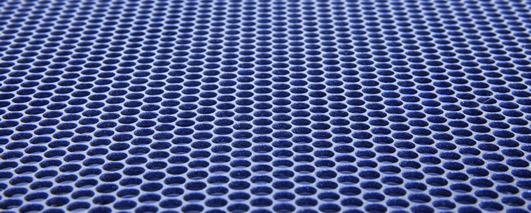 powdercoated mesh